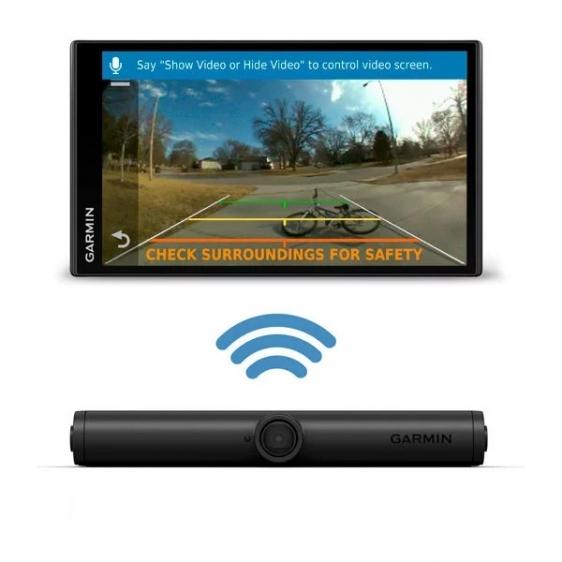 Garmin Camper 780 & Digital Traffic i kamerą cofania BC 40 [010-02227-15]