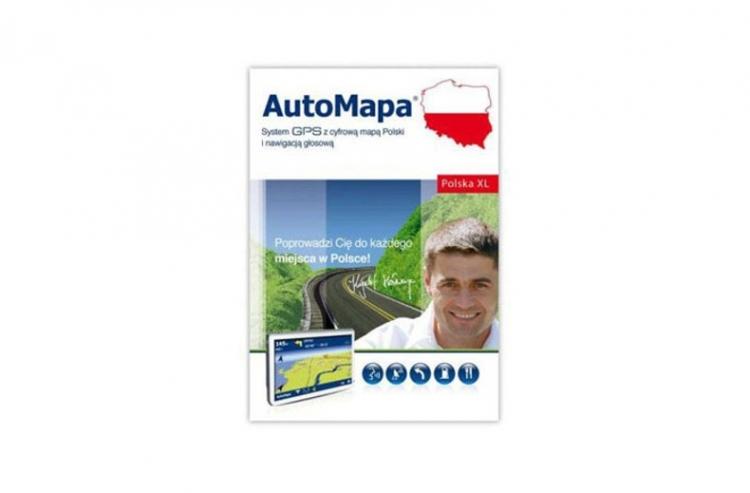 AutoMapa XL subskrypcja 2 LATA - realizowana w 24h online