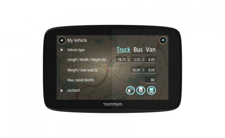 Tomtom GO Professional 6250  (DOŻYWOTNIA AKTUALIZACJA MAP, USŁUGI TRAFFIC) + ETUI
