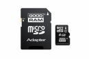 Karta MicroSD 4GB + Adapter