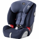 BRITAX EVOLVA 1-2-3 SL SICT Moonlight Blue + GRATISY