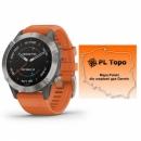 Garmin Fenix 6 Sapphire Tytanowy [010-02158-14] + PL TOPO 2019.3