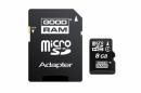 Karta MicroSD 8GB + Adapter