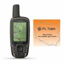Garmin GPSMAP 64sx [010-02258-11] + PL TOPO 2019.3