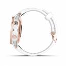 Garmin Fenix 5S Plus Sapphire, różowozłoty z białym paskiem [010-01987-07]